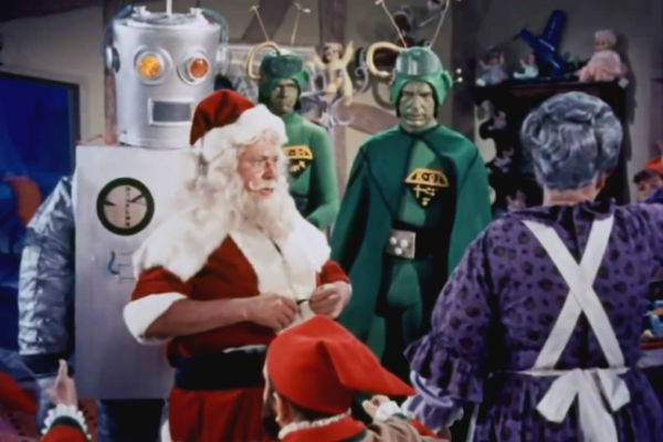 Resultado de imagem para Papai Noel Conquista os Marcianos (Nicholas Webste
