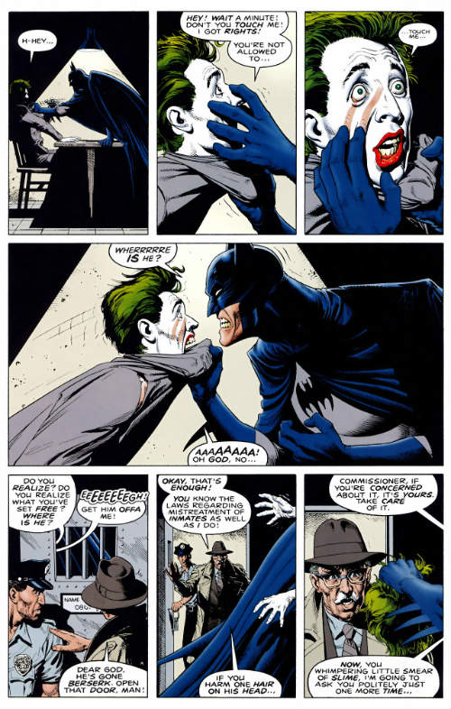 Uma conversa, um caminho para a distração. Uma escolha que causará arrependimento no morcego.