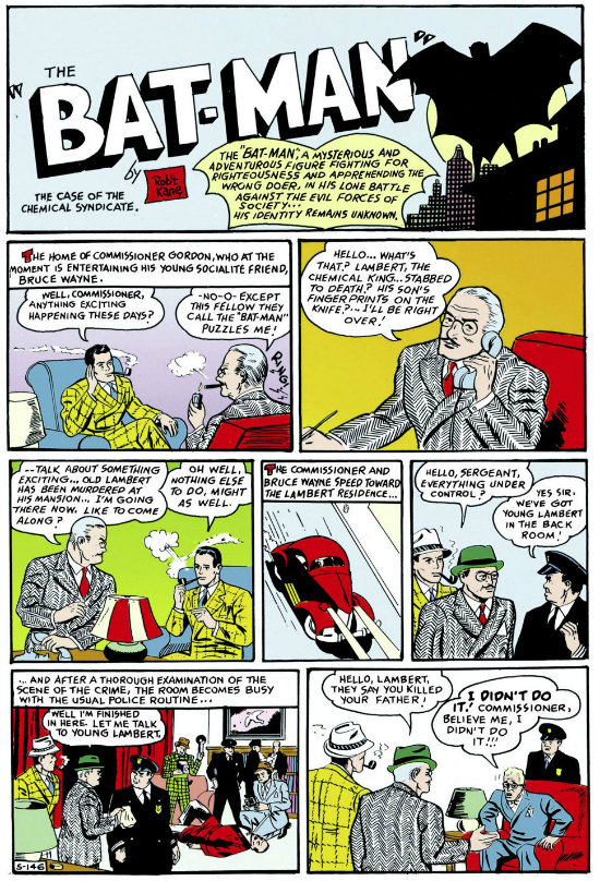 batman detective comics 27 plano critico