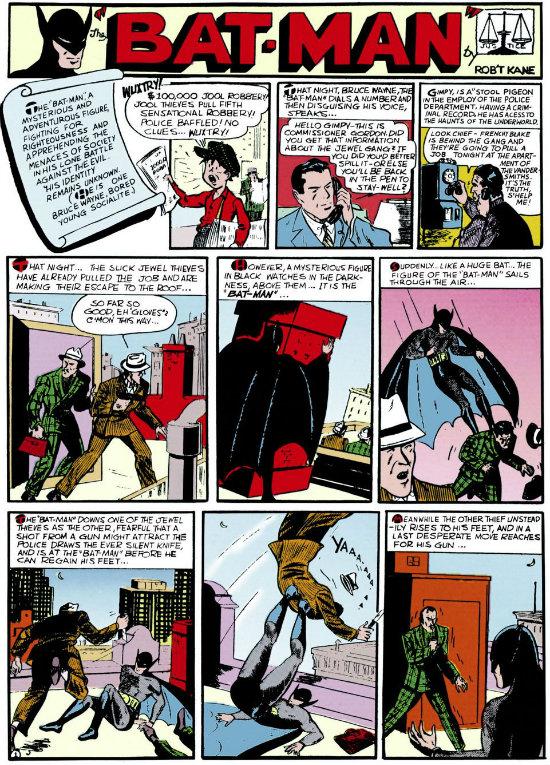 plano critico detective comics 28