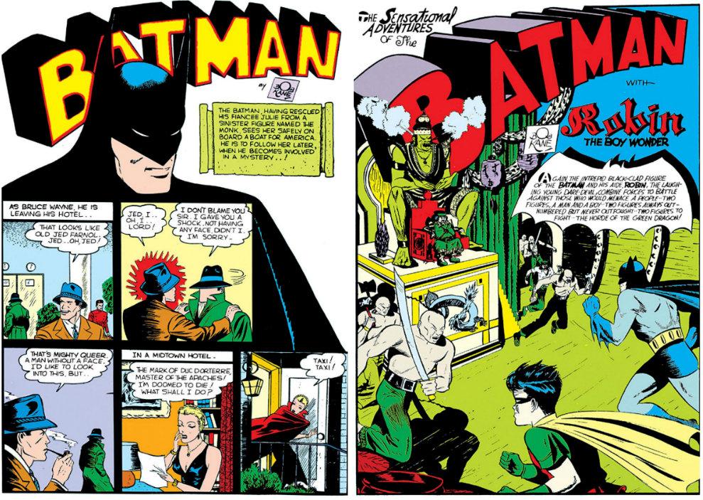 plano critoco detective comics primeira fase surgimento do robin