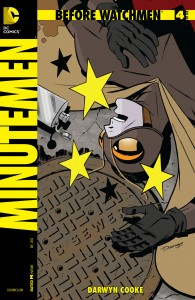 Before Watchmen Minutemen 4 cover