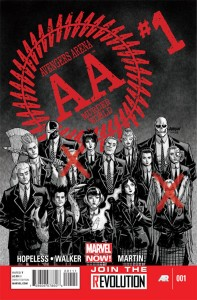 avengers arena 1 cover