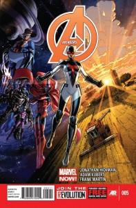 Avengers 5 cover