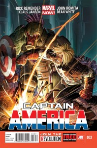 Captain America 3 cover