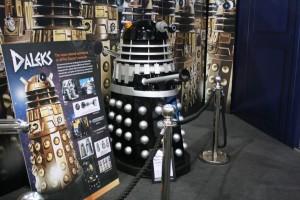 Dalek em exposição na London Comic-Con 2012.