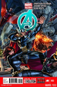 avengers 2 cover