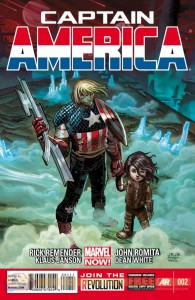 captain america 2 cover