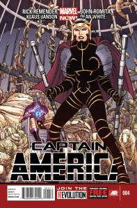 captain america 4 cover