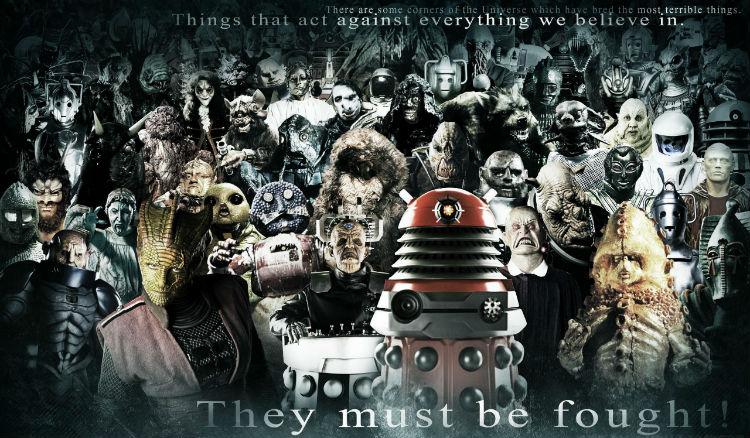 doctor who galeria de vilões