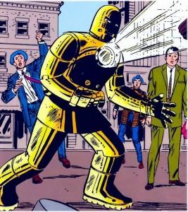 iron man original gold