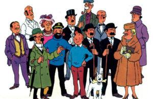 As Aventuras de Tintim, foi uma série de histórias em quadrinhos criada por Hergé (pseudônimo de Georges Prosper Remi) em 1929. A longa série de aventuras começou a ser publicada em janeiro de 1929, no caderno infantil do jornalLe Vingtième, e em 1930, seria lançado o primeiro álbum do repórter Tintim e seu cão Milu, ou seja, a junção das histórias contadas no suplementoLe Petit Vingtièmedurante o ano anterior. Esse padrão continuou sendo usado pelo jornal e pela editora Casterman para as histórias posteriores.