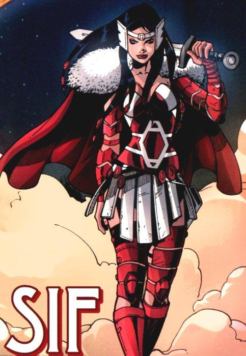 thor 2 Lady-Sif-Comic-Book