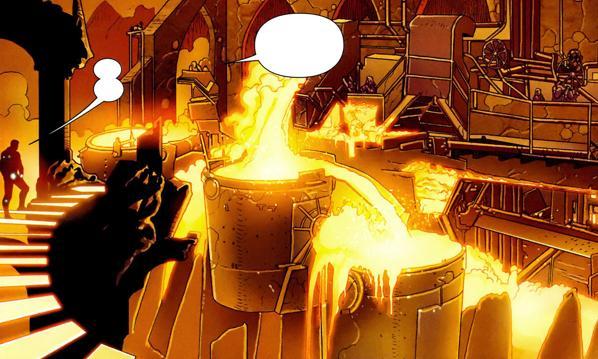 thor 2 Svartalfheim comics