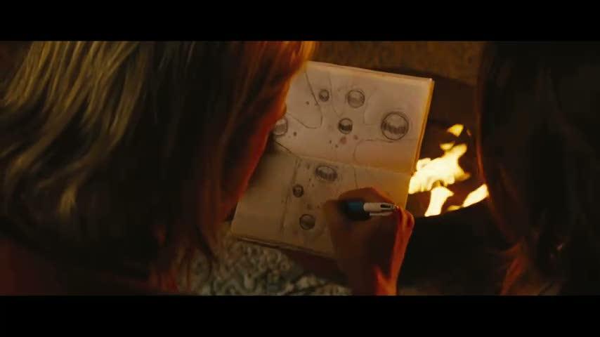 thor 2 yggdrasil desenhada no filme