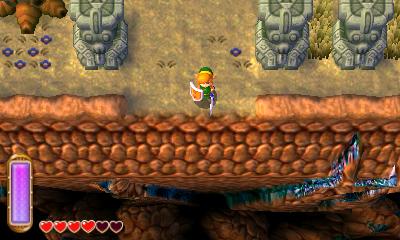 Eu não lembrava desse canyon aqui...