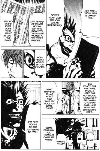 death note page