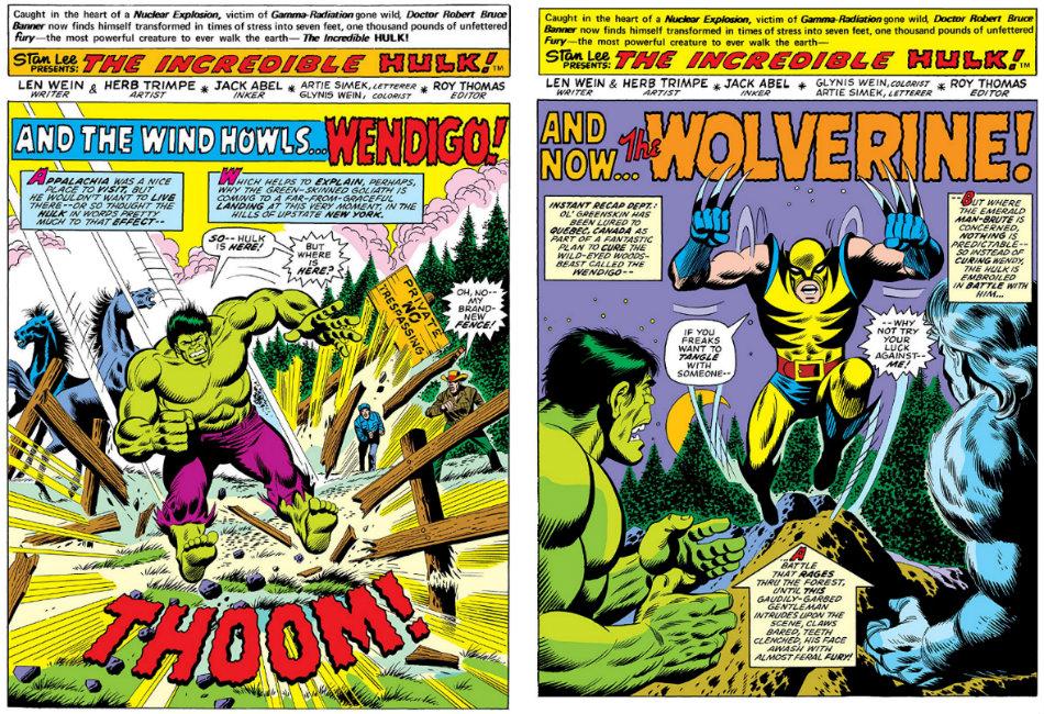 hulk wolverine e wendigo plano critico marvel comics plano critico