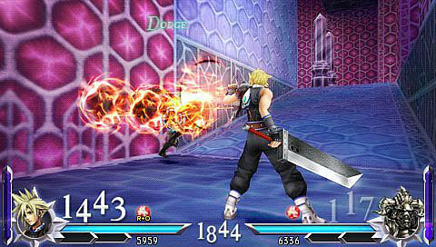 Cloud vs. Gabranth