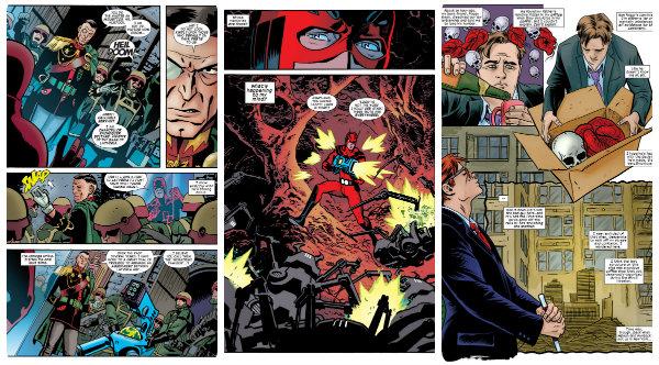 Três páginas de momentos diferentes da revista, só pra dar o gostinho...