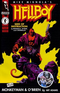 Hellboy 20 anos seed of destruction 1