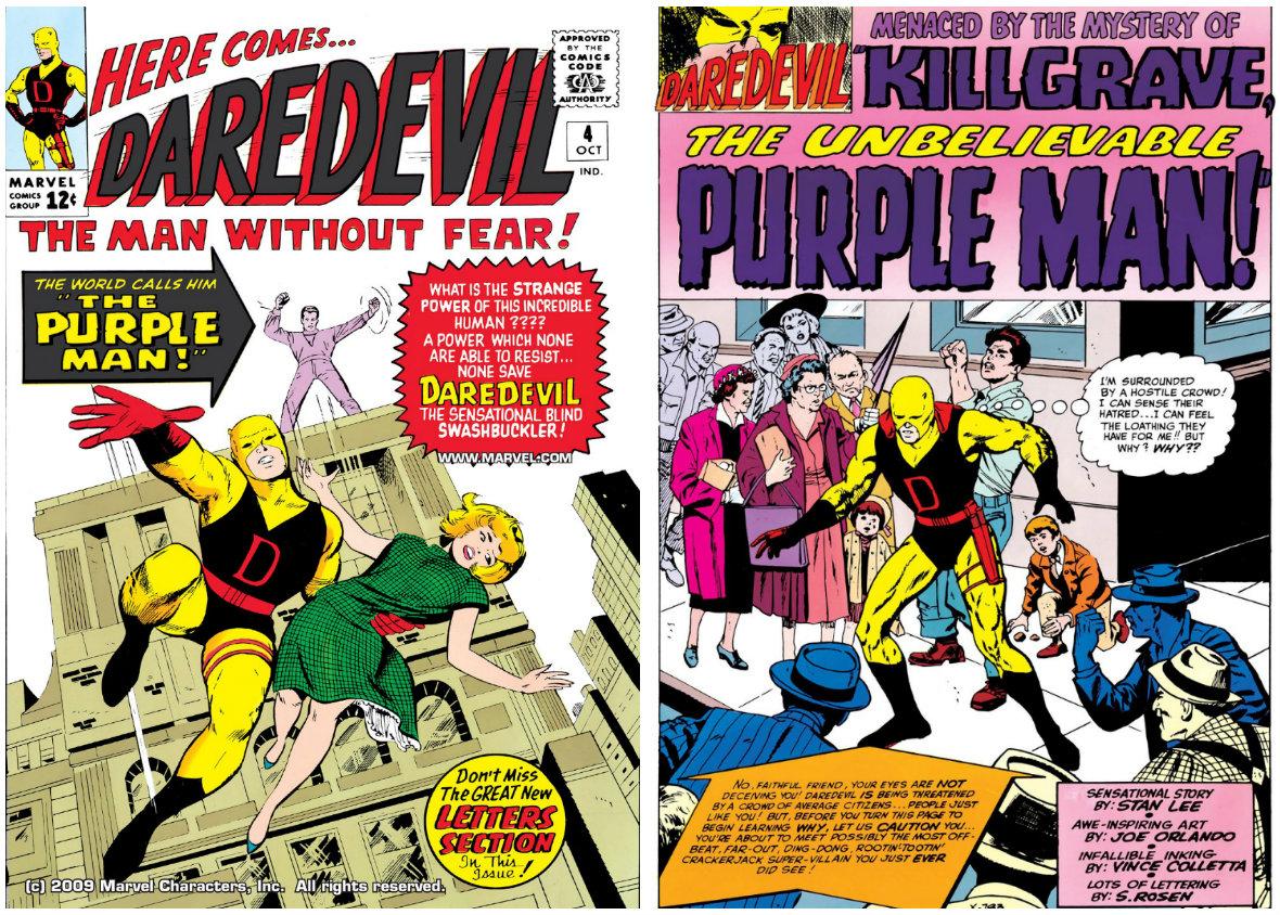 Killgrave, the Unbelievable Purple Man plano critico demolidor
