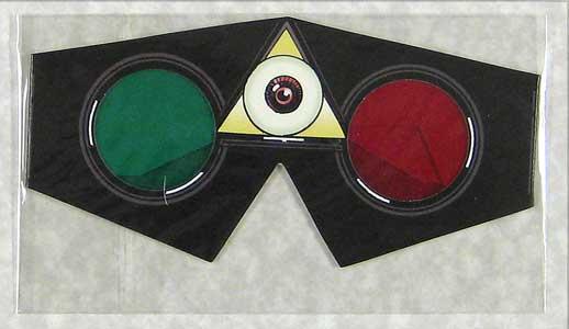 black dossier 3d glasses