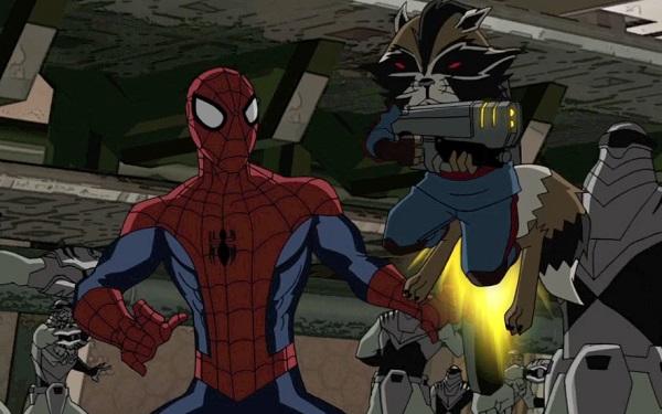 guardians spider-man im des