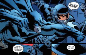 Bom Policial… Mau Policial Batman Confidential #29 – 30 plano critico