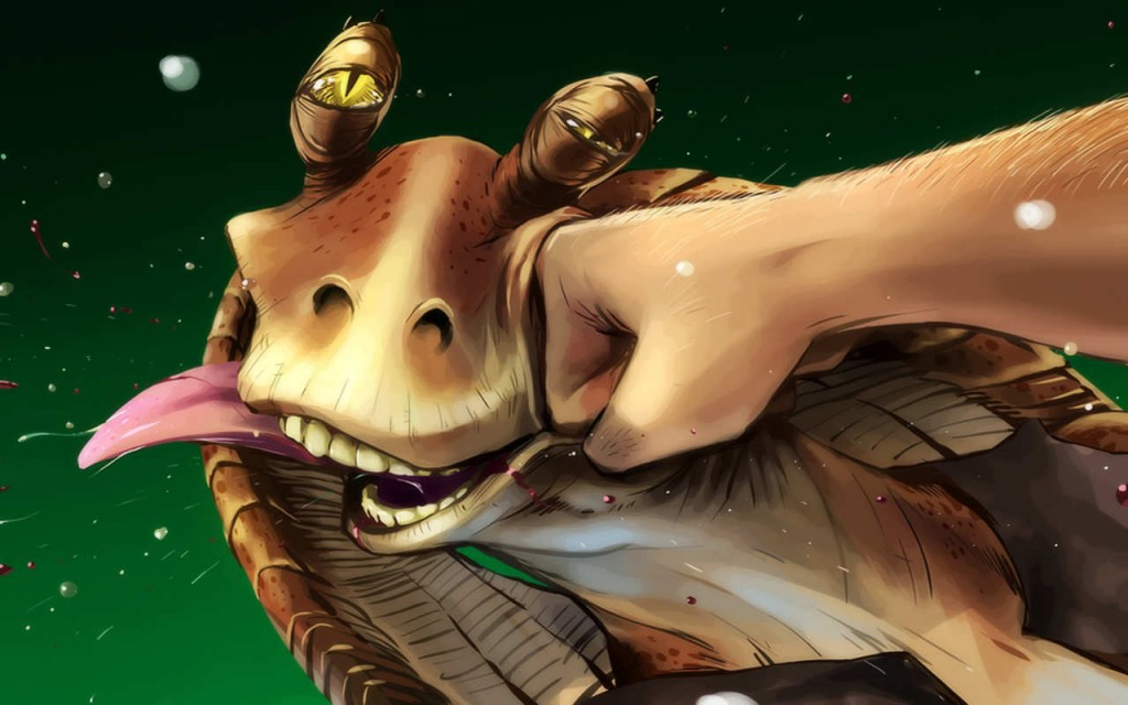 star wars old jar jar
