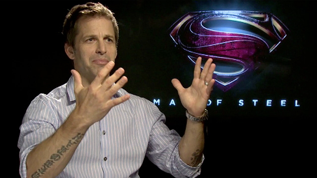 Man of Steel director Zack Snyder
