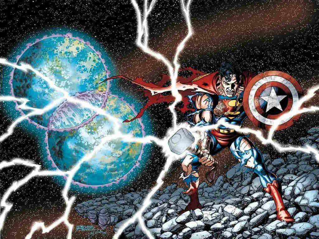 superman thor cap