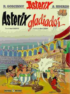 asterix gladiador cover
