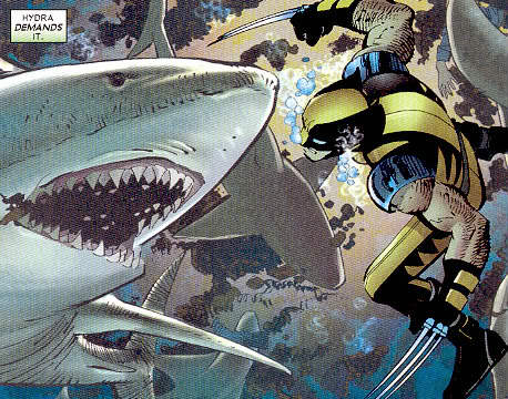 wolverine enemy of the state shark
