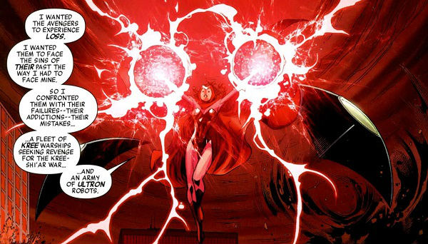 scarlet witch crazy