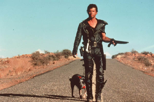 Mel Gibson in Mad Max 2.