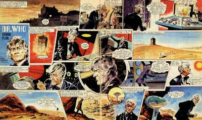 doctor who gemini plan quadrinhos