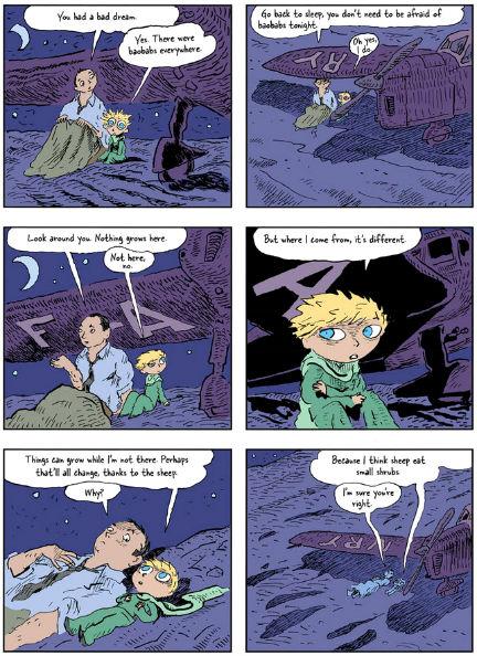 o pequeno principe quadrinhos