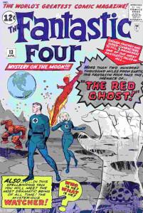quarteto fantastico 13 capa