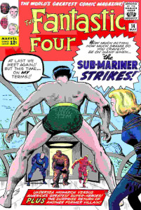 quarteto fantastico 14 capa