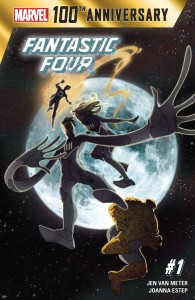 quarteto fantastico aniversario marvel capa