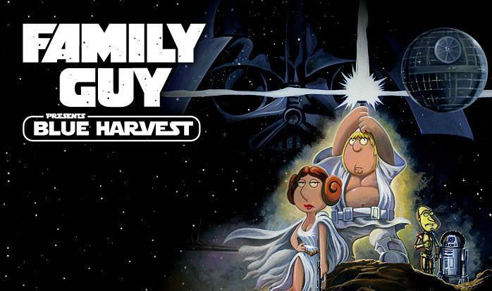 blue harvest family guy