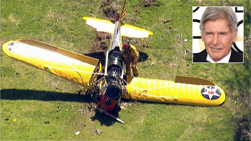 harrison ford aviao