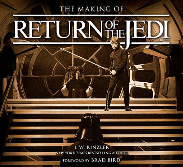 making of return of the jedi cover