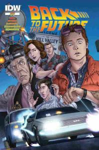back to the future 1 idw quadrinhos plano critico