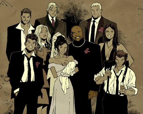 jessica jones wedding