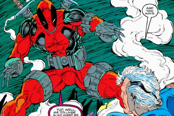 deadpool novos mutantes primeira aparicao