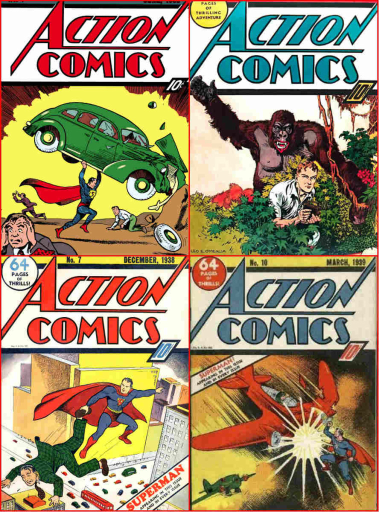 mosaico action comics 1
