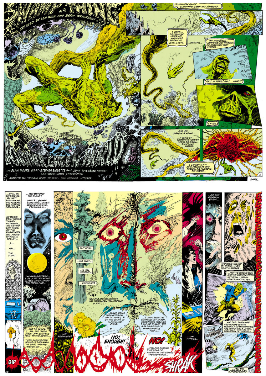 plano critico a saga do monstro do pantano alan moore plano critico swamp thing