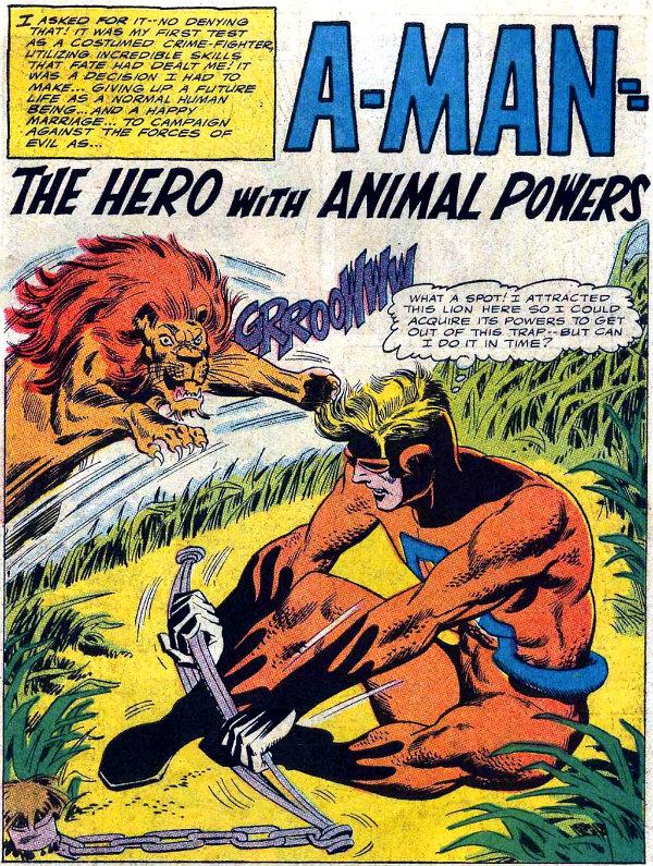 plano critico dave wood era a-man com poderes de animais plano critico